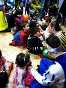 Animación de fiestas caranaval niños tenerife