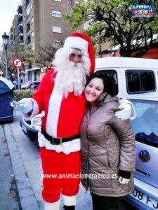La visita de Papá Noel en Tenerife