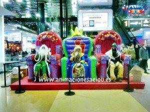 animadores fiestas para niños navidad tenerife