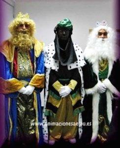 Reyes Magos a domicilio para fiestas infantiles en Tenerife