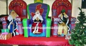 Reyes Magos a domicilio en Tenerife