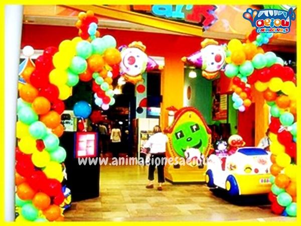 Decoración de cumpleaños infantiles en Tenerife
