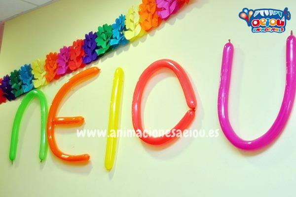 Decoración de fiestas infantiles en Tenerife a domicilio