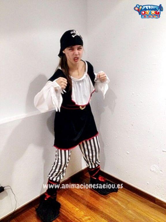 Decoraciones para fiestas temáticas de piratas en Tenerife