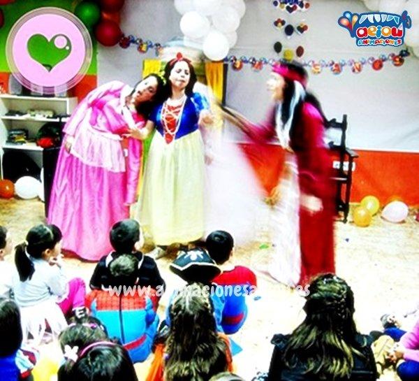 Fiestas de cumpleaños infantiles de princesas en Tenerife