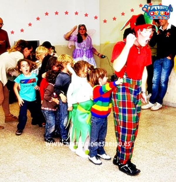 Animación de cumpleaños infantiles en La Orotava