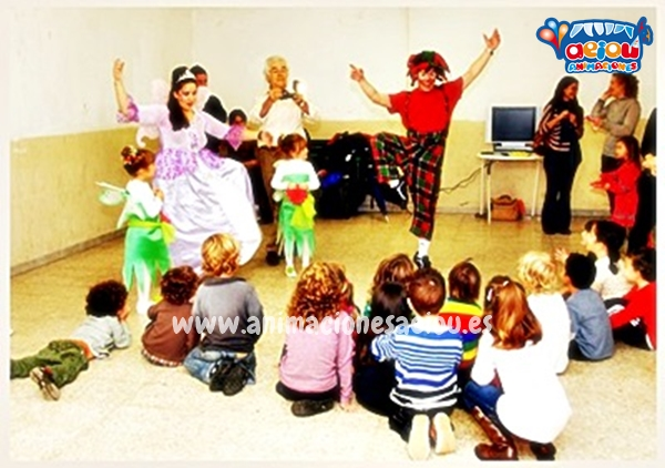 Animaciones para fiestas de cumpleaños infantiles y comuniones en Granadilla de Abona