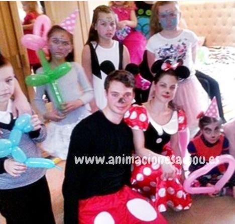 Payasos para fiestas infantiles en Puerto de la Cruz
