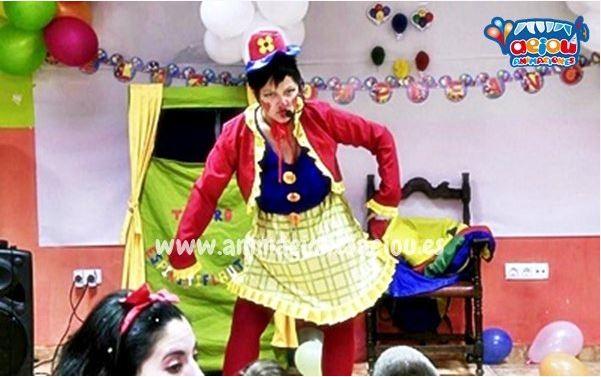 Animaciones para fiestas infantiles en La Orotava