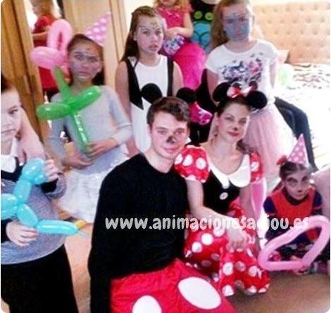Animadores para fiestas infantiles en Adeje