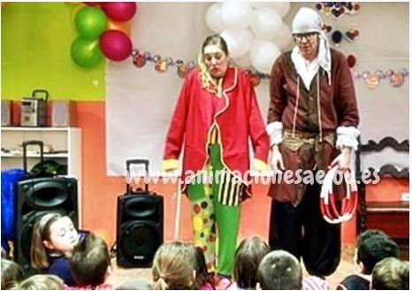 Payasos para fiestas infantiles en Los Realejos